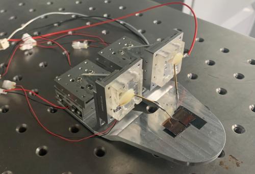 三轴纳米探针台产品图