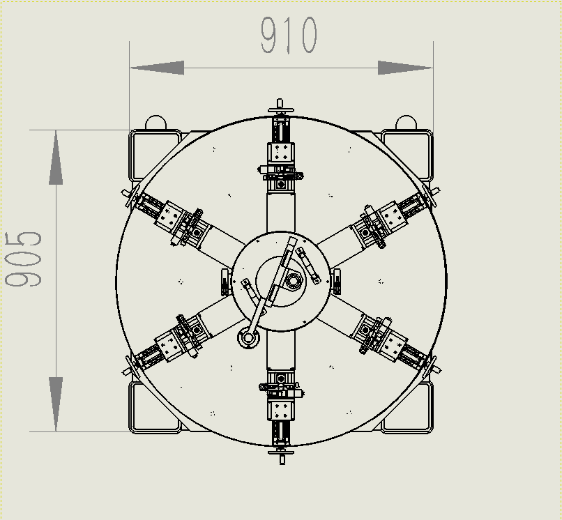 干式液氦温区探针台尺寸图1