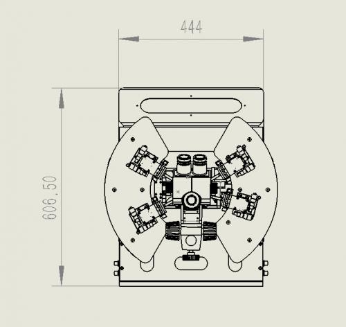 室温自动探针台尺寸图2