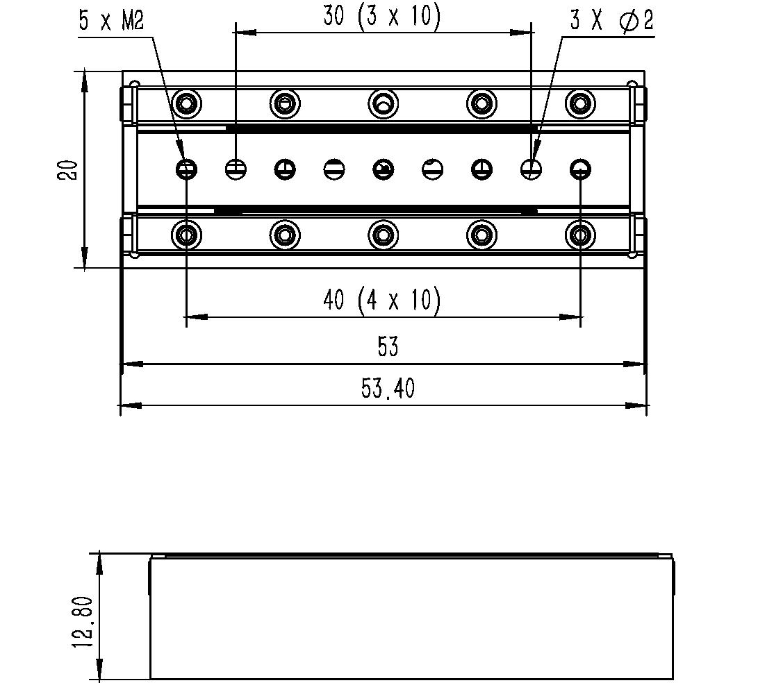 直线纳米位移ML-37A尺寸图2