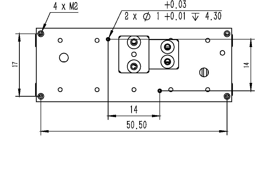 直线纳米位移ML-37A尺寸图