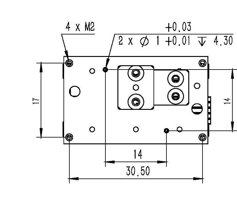 直线纳米位移ML-15A尺寸1