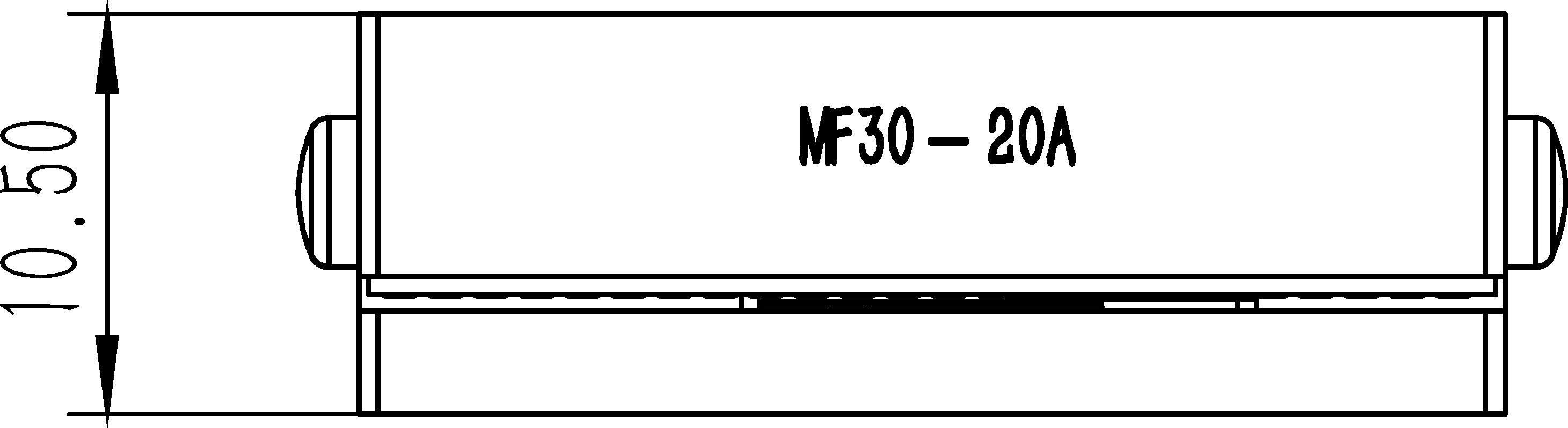 直线纳米位移MF30-20A尺寸3